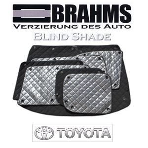 トヨタ ランドクルーザープラド ブラインドシェード『車中泊に必須!』 Lサイズ 日本製!品質重視!車種別専用設計!BRAHMS 高級ブラインドシェード|only-style
