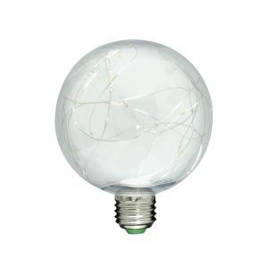 LEDチップス電球 レオン G100  全光束30lm 電球色(3000K) E26口金 LDC7 イルミネーション 電飾 星|only1-led