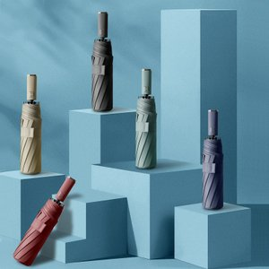 折りたたみ傘 撥水加工 折り畳み傘3段折り  メンズビジネス自動開閉 晴雨兼用 高強度 耐久性の高い...