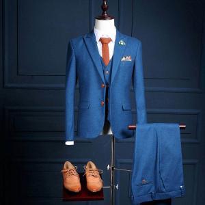 3ピーススーツ ビジネススーツ メンズスーツセット ベスト付き スリム 無地 フォーマル シンプル ...