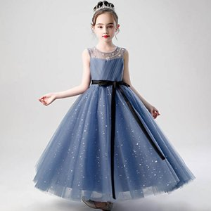 2021 新作ドレス 子供 発表会 結婚式 子ども ワンピース ふんわり きれいめ 演奏会 子供ドレ...