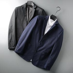 2019春秋 新作 ブレザー メンズ 無地  薄くて軽やかなジャケット ビジネス スーツ ジャケット...