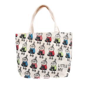 【セット品】ムーミントートバッグ MOOMIN ランチバッグ ミニトートバッグ エコバッグ かわいい キャラクターグッズ レディース (バッグ,キーリング)