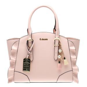 カラー:ピンク  サイズ:約 H22 W25〜33cm D11(CM) 持ち手高さ約12(CM) 素...