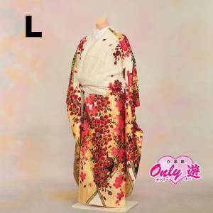 振袖セット/レンタル/振袖 /成人式/ ブランド/正絹/20-239NK Luxjewel 白Lサイズ(157cm〜165cm|onlyyou