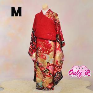 振袖セット/レンタル/振袖 ブランド/正絹/20-269IM Marvelous 赤 Mサイズ(150cm〜156cm) onlyyou