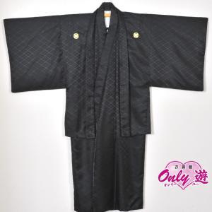 メンズ袴/男紋付羽織袴/ 20-603NB結婚式/成人式/入学式/卒業式/着物レンタル 黒|onlyyou