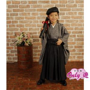 卒園式 羽織袴 マリココレクション 男の子 着物 レンタル 7歳 袴セット 子供  5-568MK-s onlyyou