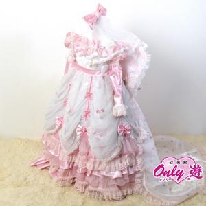 子供ドレス/100cm/G3 松田聖子 07 ロングドレス ピンク サイズ100|onlyyou