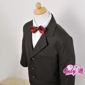 男児スーツ /結婚式/USA ブラウン B7 130cm|onlyyou