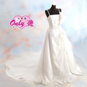 ウェディングドレス/レンタル/レディース/エンパイアライン/11号/白/花嫁/結婚式/|onlyyou