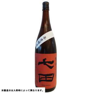 七田  (しちだ)  純米七割五分無濾過 1800ml (日本酒/佐賀県/天山酒造)   お酒|ono-sake
