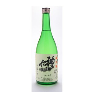 神亀  (しんかめ)  純米酒辛口 720ml  (日本酒/埼玉県/神亀酒造)   お酒|ono-sake