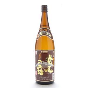 紫尾の露(しびのつゆ) 甕仕込み 1800ml (芋焼酎/鹿児島県/軸屋酒造)|ono-sake