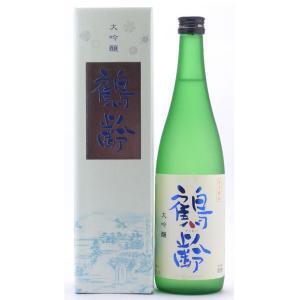 お酒 鶴齢(かくれい) 大吟醸 山田錦 720ml (日本酒/新潟県/青木酒造)|ono-sake