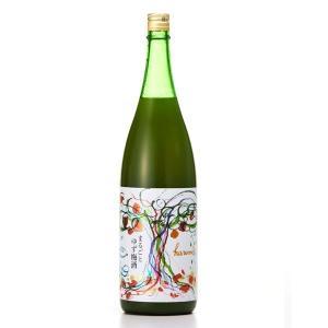 庭のうぐいす  (にわのうぐいす)  まるごとゆず梅酒 1800ml  (梅酒/福岡県/山口酒造場)   お酒 リキュール ゆず酒 ono-sake