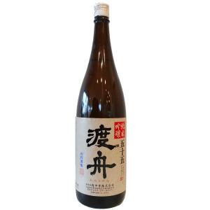 """府中誉の造る渡舟シリーズは、酒米""""渡船""""を使用し、モロミをゆっくりと低温発酵させたものを、米の旨みを..."""