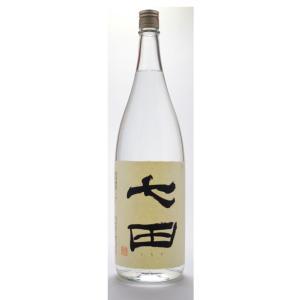 七田  (しちだ)  吟醸酒粕焼酎 1800ml  (米焼酎/佐賀県/天山酒造)   お酒