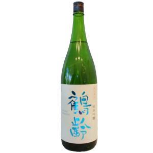 お酒 鶴齢(かくれい) 純米吟醸 火入れ 1800ml 越淡麗 (日本酒/新潟県/青木酒造)|ono-sake