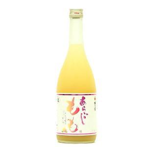 梅乃宿 あらごしもも 720ml (リキュール/奈良県/梅乃宿酒造) お酒 ono-sake