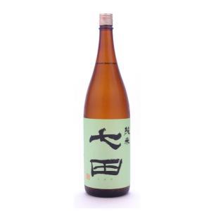 七田  (しちだ)  純米無濾過 1800ml (日本酒/佐賀県/天山酒造)   お酒|ono-sake