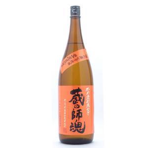 蔵の師魂(くらのしこん) かめ壺貯蔵むぎ 麦焼酎 25°1800ml (麦焼酎/鹿児島県/小正醸造)|ono-sake