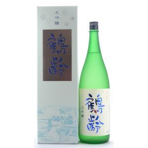 お酒 鶴齢(かくれい) 大吟醸 山田錦 1800ml (日本酒/新潟県/青木酒造)|ono-sake
