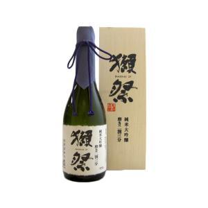 お酒 獺祭だっさい磨き二割三分木箱入り純米大吟醸720ml山口県旭酒造|ono-sake