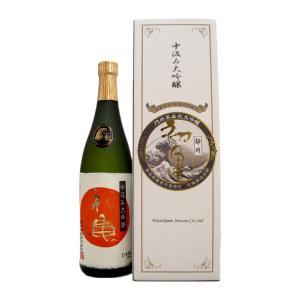 お酒 初亀(はつかめ) 中汲み大吟醸 720ml (日本酒/静岡県/初亀醸造)|ono-sake