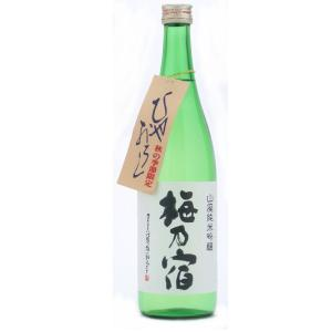 梅乃宿(うめのやど) 山廃純米吟醸 720ml (日本酒/奈良県/梅乃宿酒造)|ono-sake