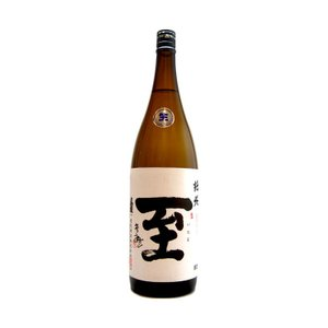 至(いたる) しぼりたて純米 生 1800ml(要冷蔵) (日本酒/新潟県/逸見酒造)|ono-sake