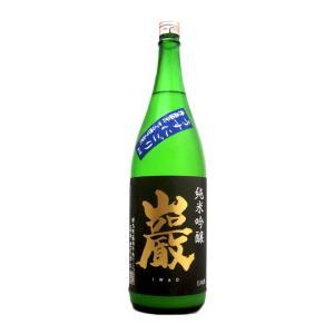 巖 (いわお)  純米吟醸うすにごり 1800ml  (要冷蔵)    (日本酒/群馬県/高井株式会社)   お酒|ono-sake