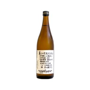 巖(いわお) 601号純米 無濾過生原酒 720ml(要冷蔵) (日本酒/群馬県/高井株式会社) ono-sake
