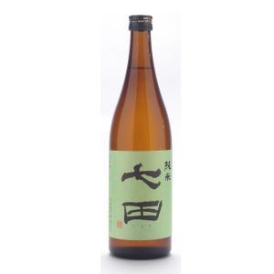 七田  (しちだ)  純米無濾過 720ml (日本酒/佐賀県/天山酒造)   お酒|ono-sake