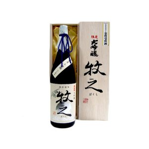 お酒 鶴齢(かくれい) 限定 大吟醸 牧之 1800ml (日本酒/新潟県/青木酒造)|ono-sake