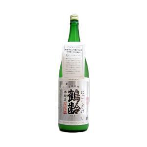 鶴齢 (かくれい)  本醸造にごりざけ 1800ml  (要冷蔵)    (日本酒/新潟県/青木酒造)   お酒 ono-sake