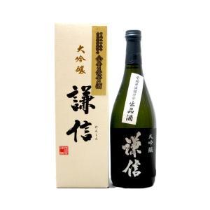 謙信 (けんしん)  大吟醸金賞受賞酒 720ml  (日本酒/新潟県/池田屋酒造)   お酒|ono-sake