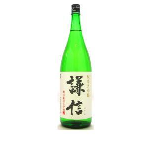 謙信 (けんしん)  純米大吟醸越淡麗1800ml  (要冷蔵)    (日本酒/新潟県/池田屋酒造)   お酒|ono-sake
