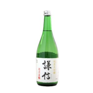 謙信 (けんしん)  純米大吟醸越淡麗720ml  (日本酒/新潟県/池田屋酒造)   お酒|ono-sake