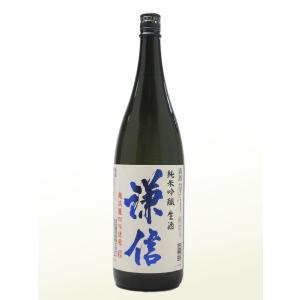 謙信 (けんしん)  越淡麗純米吟醸生 1800ml  (要冷蔵)    (日本酒/新潟県/池田屋酒造)   お酒|ono-sake