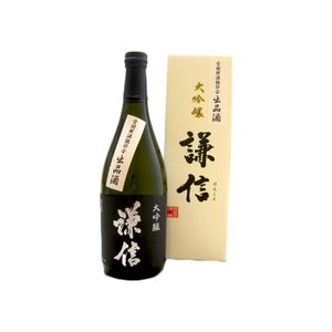 謙信 (けんしん)  鑑評会出品酒大吟醸 720ml  (要冷蔵)    (日本酒/新潟県/池田屋酒造)   お酒|ono-sake