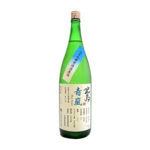 お酒 北島(きたじま) <青嵐> 純米吟醸原酒 1800ml(要冷蔵)  (日本酒/滋賀県/北島酒造)|ono-sake
