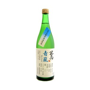 北島(きたじま) <青嵐> 純米吟醸原酒 720ml(要冷蔵)  (日本酒/滋賀県/北島酒造) ono-sake