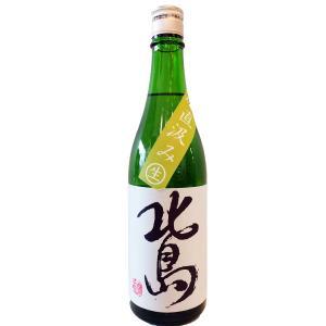 北島(きたじま) 純米吟醸 直汲み 美山錦 生原酒 720ml(要冷蔵) (日本酒/滋賀県/北島酒造) ono-sake
