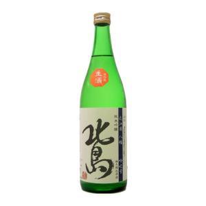 お酒 北島(きたじま) 純米吟醸 吟吹雪 無濾過生原酒 720ml(要冷蔵) (日本酒/滋賀県/北島酒造)|ono-sake
