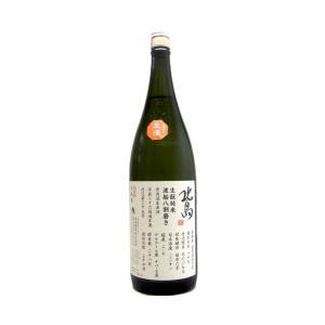 北島(きたじま) きもと純米 渡船八割磨き 生原酒 1800ml(要冷蔵)  (日本酒/滋賀県/北島酒造)|ono-sake