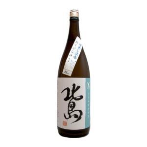 北島(きたじま) みずかがみ 純米生原酒おりがらみ 1800ml(要冷蔵)  (日本酒/滋賀県/北島酒造)|ono-sake