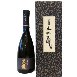 お酒 黒龍(こくりゅう) 大吟醸 720ml (日本酒/福井県/黒龍酒造)|ono-sake