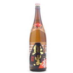 純黒(じゅんくろ) 薩摩乃薫 芋焼酎 25°1800ml (芋焼酎/鹿児島県/田村合名会社)|ono-sake
