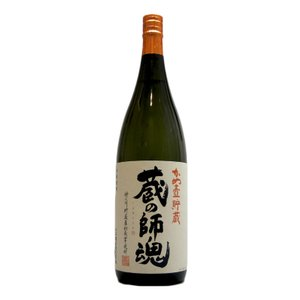 蔵の師魂(くらのしこん) かめ壺貯蔵 芋焼酎 25°1800ml (芋焼酎/鹿児島県/小正醸造)|ono-sake